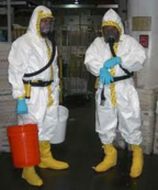 Bio-hazard cleaning